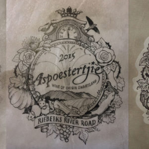 Jack-Russell-Design-Aspoestertjie-Wine-label-design-development