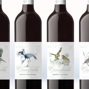 Jack-Russell-Design-Cranefields-Wine-premium-birders-range-label-design