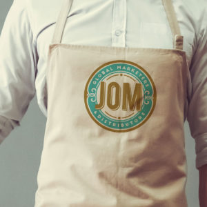 Jack-Russell-Design-JOM-logo-on-apron
