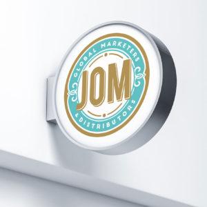 Jack-Russell-Design-JOM-logo-&-signage-design