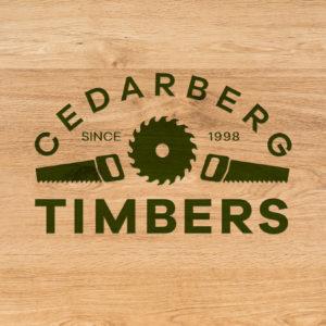 Jack-Russell-Design-Cedarberg-Timbers-logo-on-wood