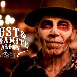 Jack-Russell-Design-Dust-&-Dynamite-Saloon-day-of-the-dead-logo-design