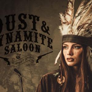 Jack-Russell-Design-Dust-&-Dynamite-Saloon-logo-design-4