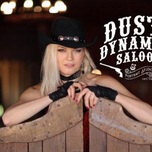 Jack-Russell-Design-Dust-&-Dynamite-Saloon-logo-design-swingdoors